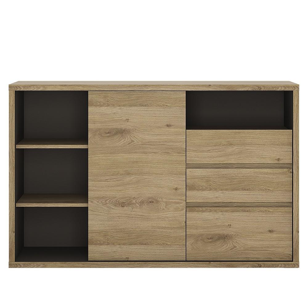 Shetland Sideboard 1 Door 3 Drawer Wooden