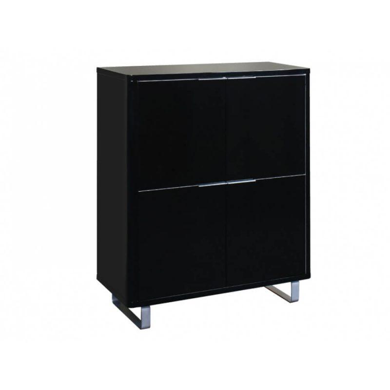 Accent Storage Unit Black 1