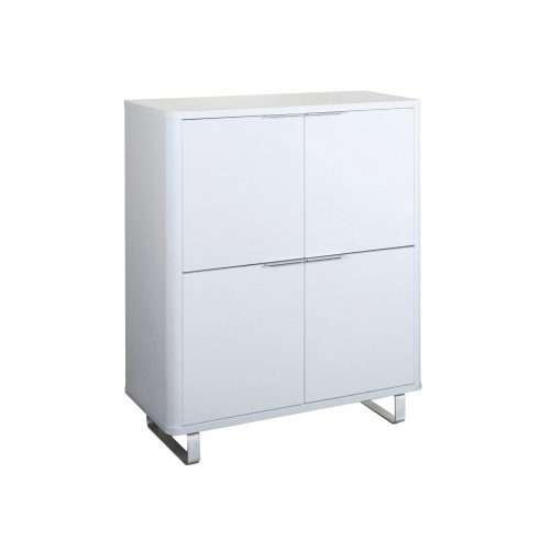 Accent Storage Unit White 1