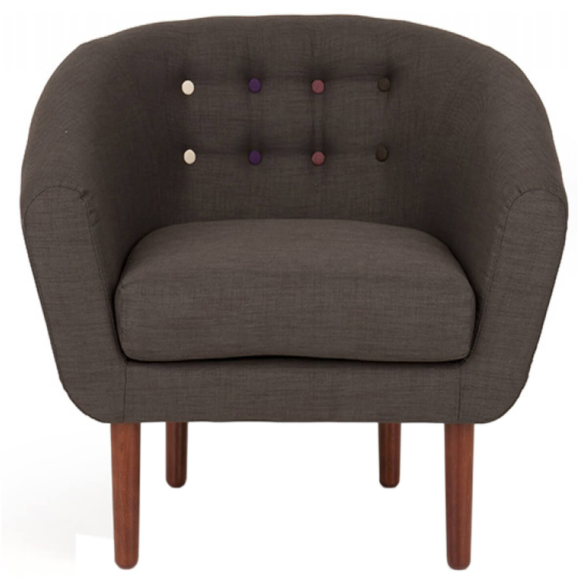 Anji Armchair Dark Grey
