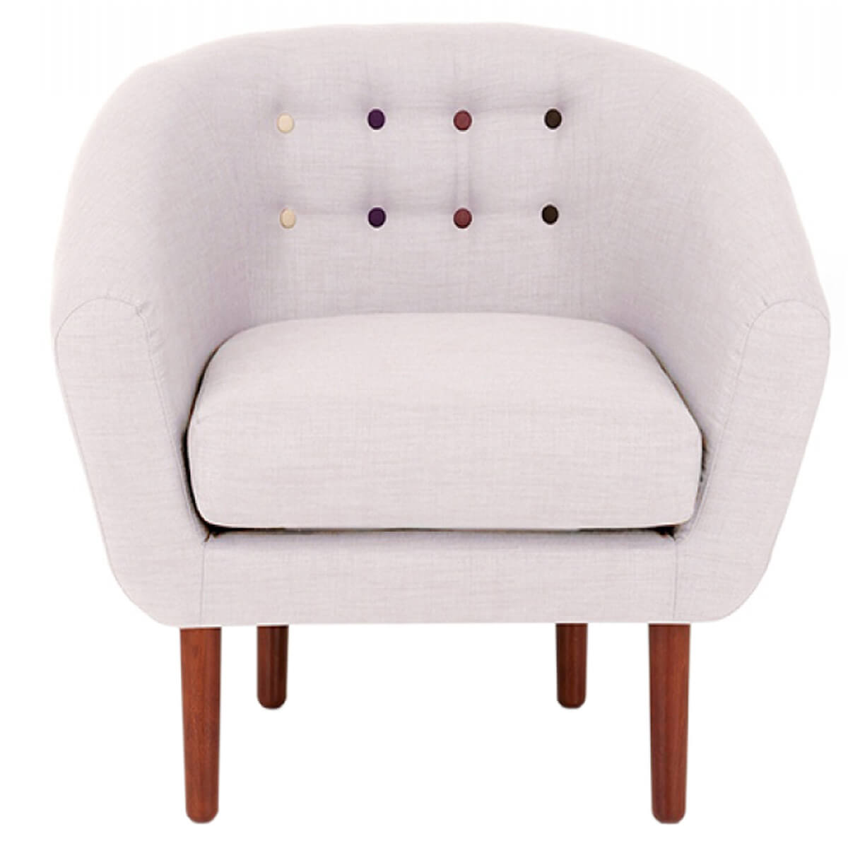 Anji Armchair Light Grey