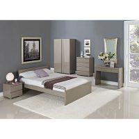 Puro High Gloss Stone Bed FRame 2