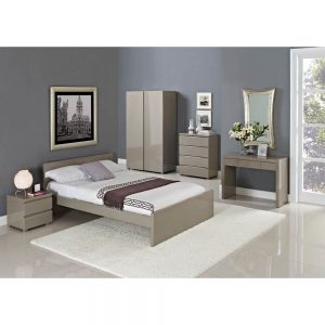 Puro High Gloss Stone Bed FRame 2