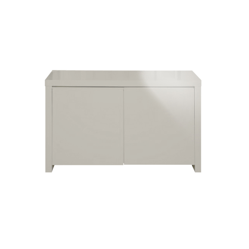 Puro sideboard grey high gloss two door