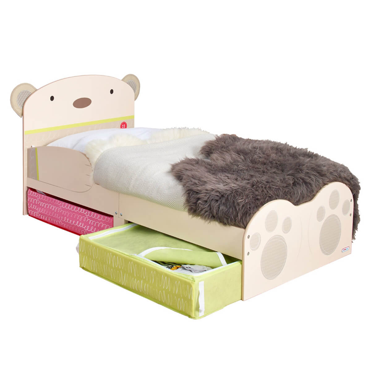 BabyBear Toddler Bed With Underbed Storage  sc 1 st  FADS & Baby Bear Toddler Bed with Storage | FREE DELIVERY | FADS