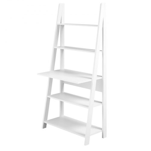 Bodo White Ladder Desk