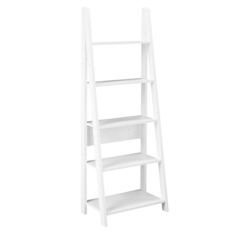 Bodo white bookcase 1