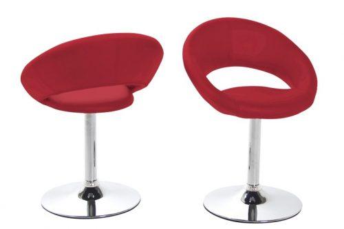 Caspian Modern Red Dining Chair 1