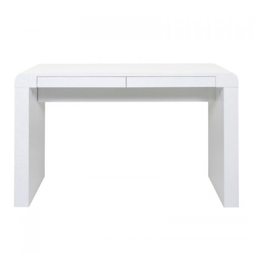 Cana White High Gloss Desk