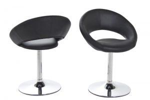 Caspian Modern Black Dining Chair 1