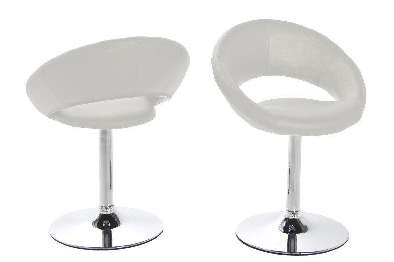 Caspian Modern White Dining Chair 1
