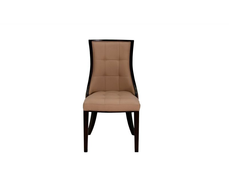 Cassia Beige Faux Leather Chairs 1
