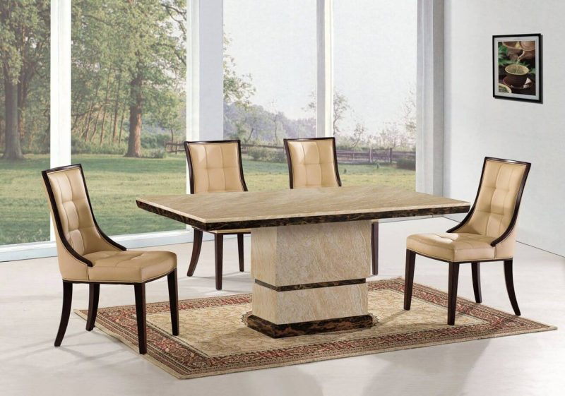 Cassia Beige Faux Leather Chairs 2