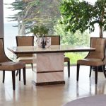 Cassia Beige Faux Leather Chairs 3