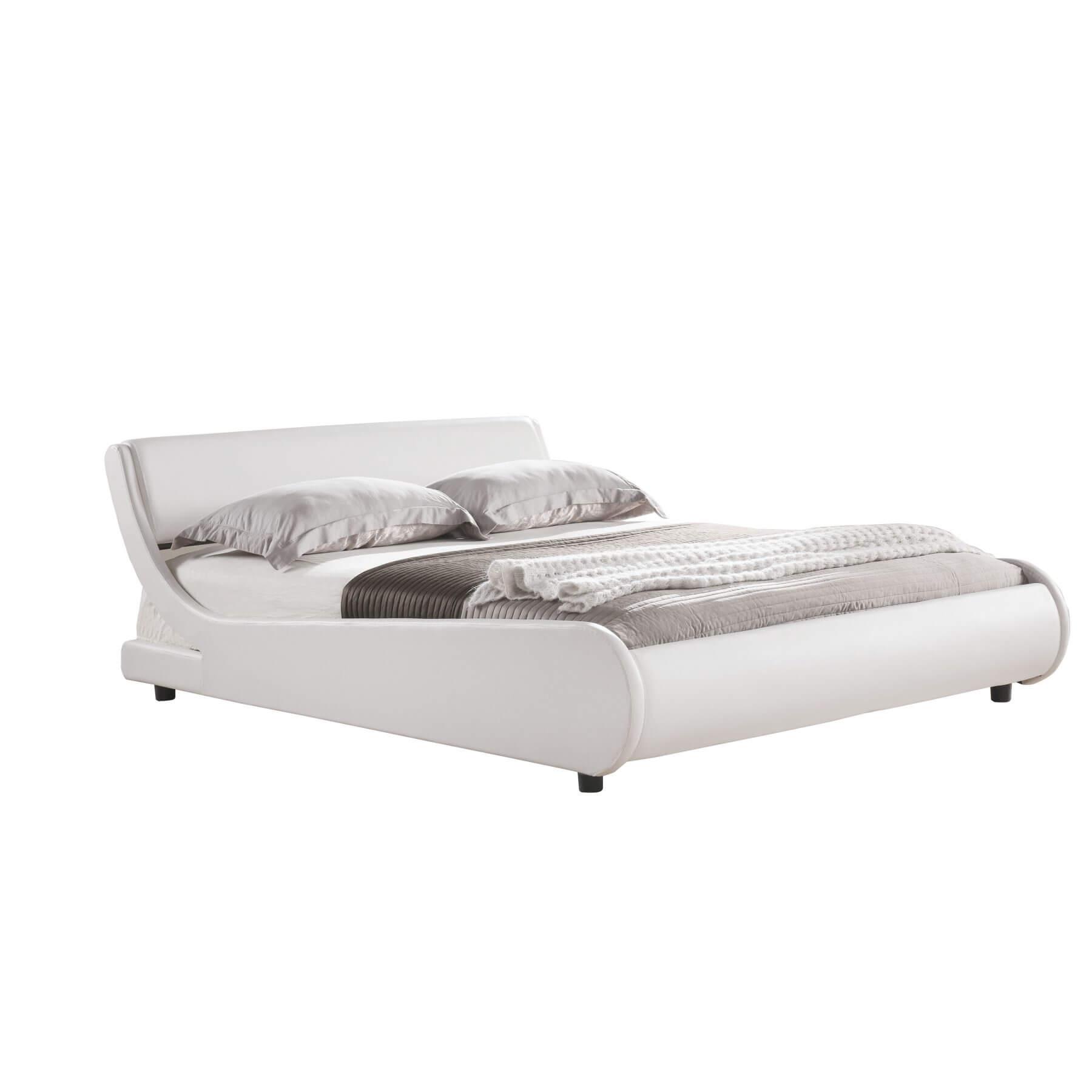 Chicago Low Bed Frame Modern Bedroom Furniture Fads