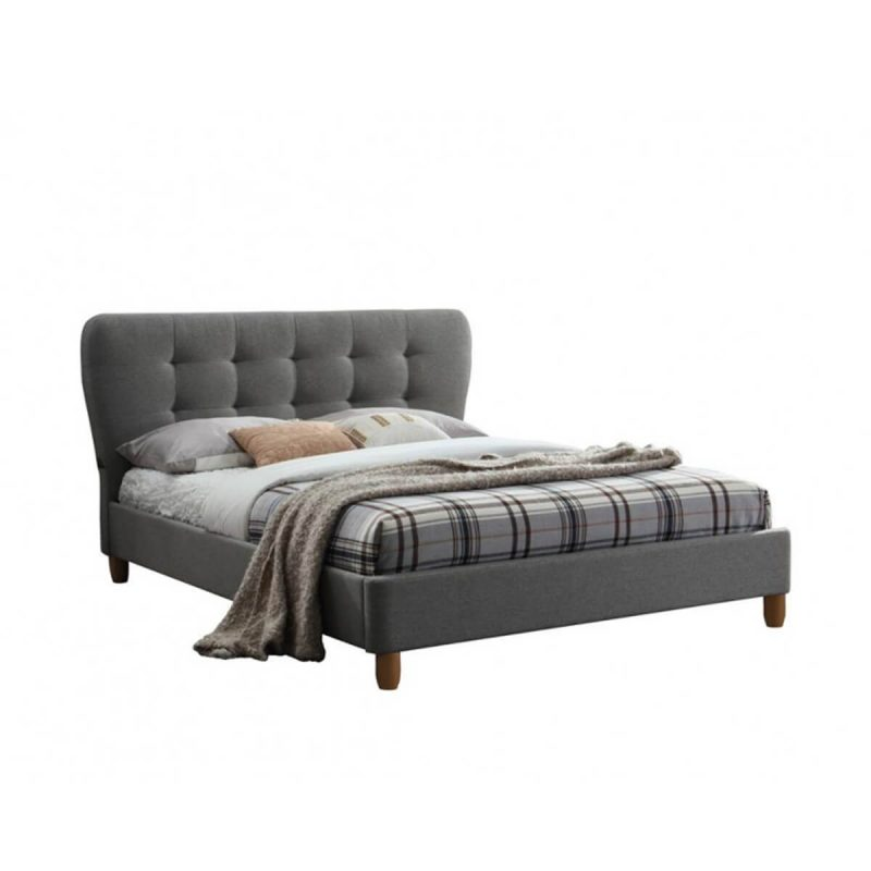 Cologne Fabric Bed Frame Grey 3