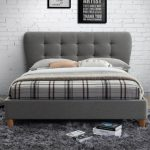 Cologne Fabric Bed Frame Grey 6