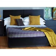 Cordoba Bed Frame Black Oak 3