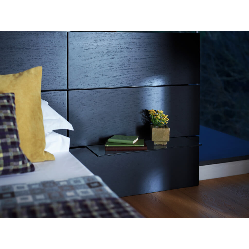 Cordoba Bed Frame With Side Units Dark Wenge 3