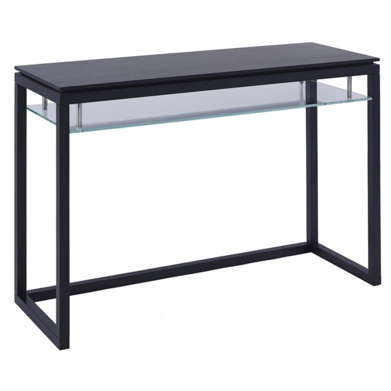 Cordoba dark wenge glass console table free delivery fads - Console extensible wenge ...