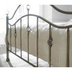 Cygnus Metal Bed Frame Antique Brass 3
