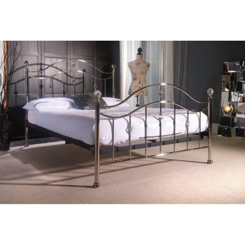 Cygnus Metal Bed Frame Chrome