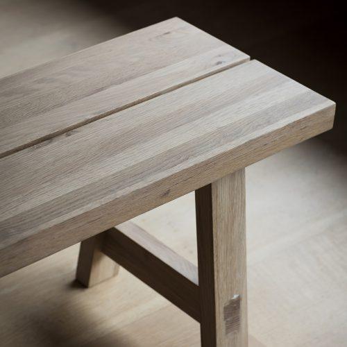 Narrative solid oak Dalby Dining Set Bench 2