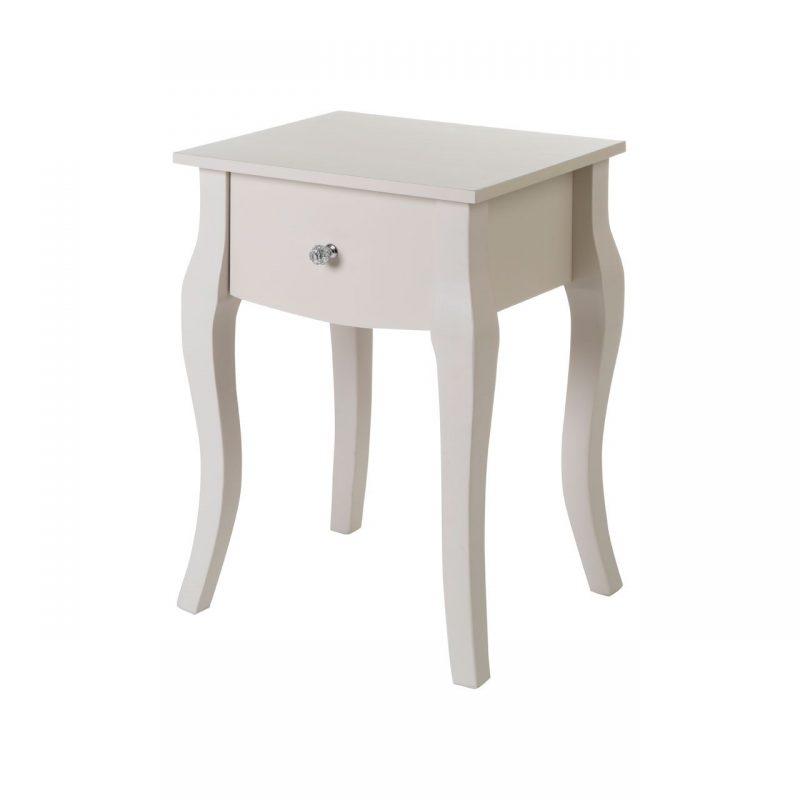 Elsie Ivory Bedside Table