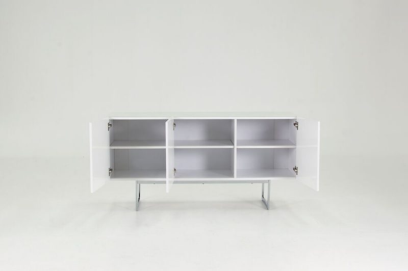 Essence Sideboard White High Gloss 1