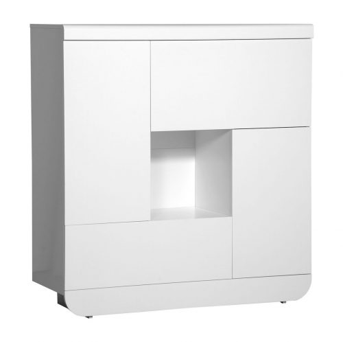 Floyd White High Gloss Storage Unit 4