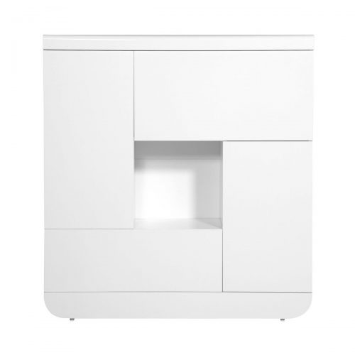 Floyd Storage Unit White High Gloss 2 Door 2 Flap