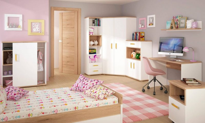 iKids Single Bed with Under Bed Drawer