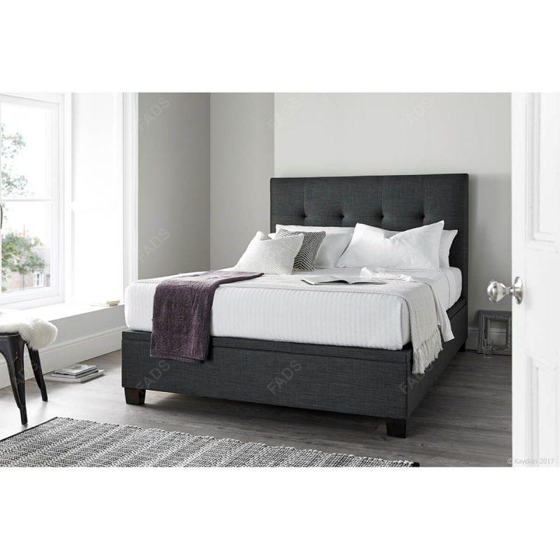 Kaydian Walkworth Ottoman Bed Frame Fabric 3