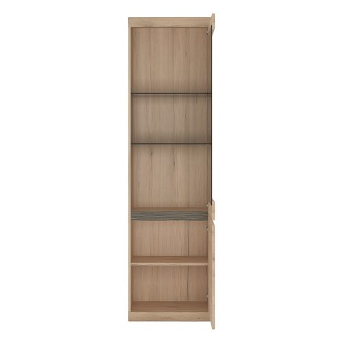 Kensington Tall Display Cabinet 2 Door 1