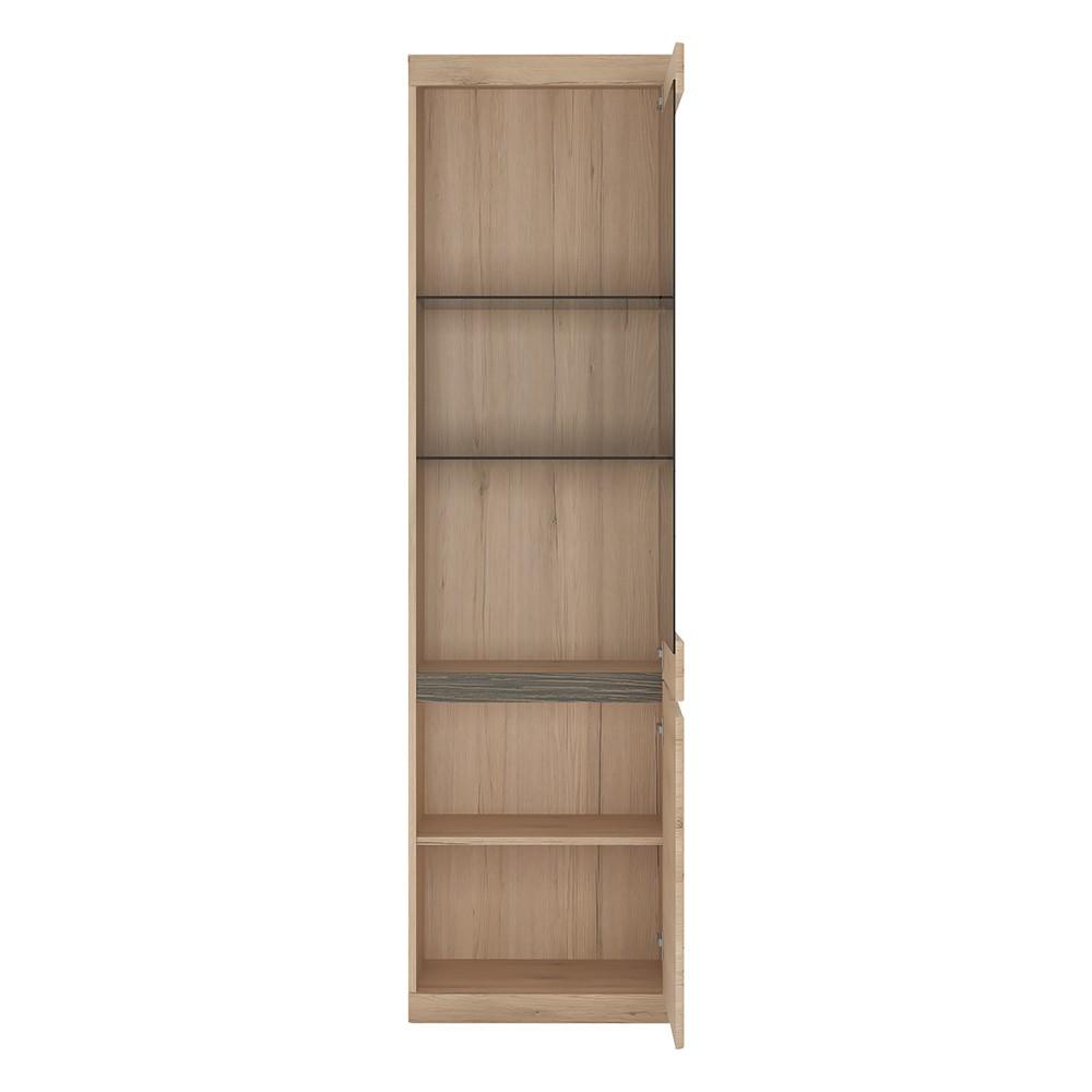 Kensington Tall Display Cabinet 2 Door 1