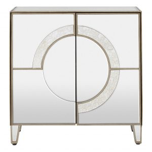 Kensington Townhouse Sideboard 2 Door Mirrored