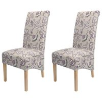 Krista Deco Dining Chairs Amethyst Fabric