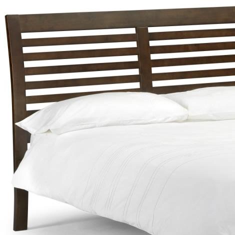 Kuala Wooden Bed Frame Wenge Finish 2