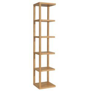 Laval Bookcase Oak 1