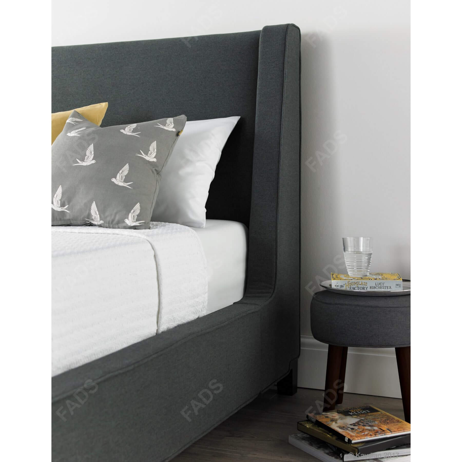 Lisa-Bed,-Dark-Grey,-HB-Detail