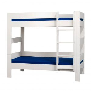 London White Bunk Bed With Under Bed Drawer White 2