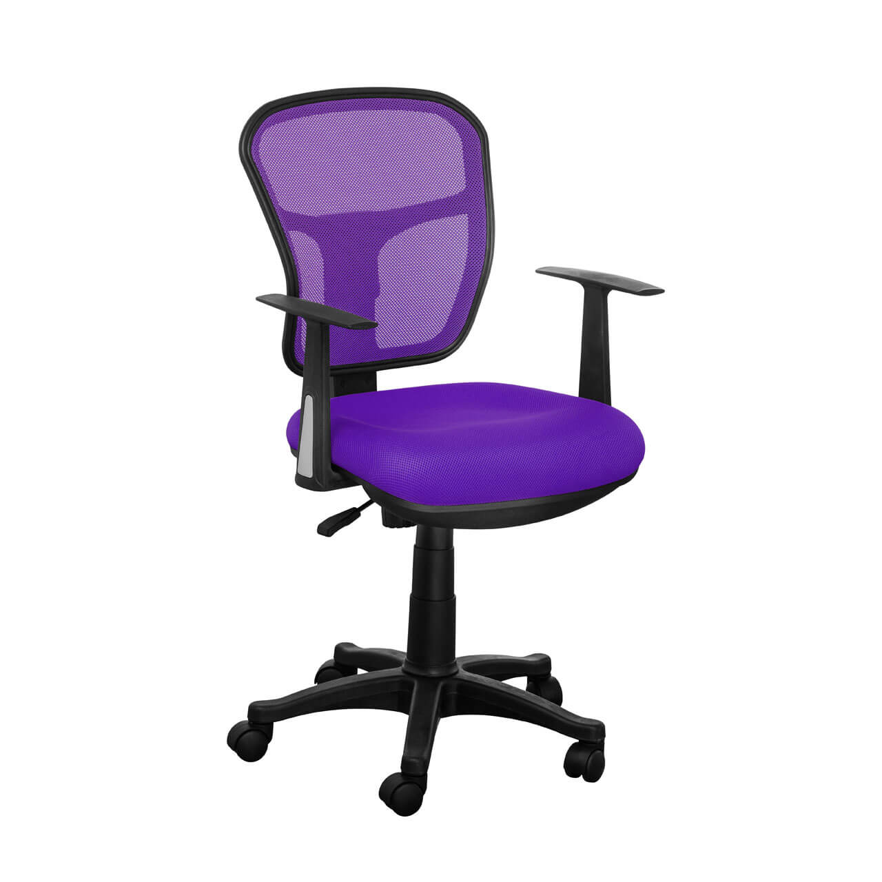 Luna Purple Mesh Office Chair