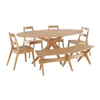 MALMO DINING SET WITH BENCH