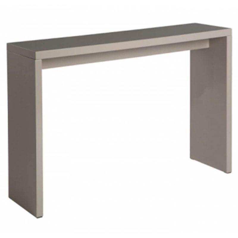 Madrid Console Table Gloss Dark Grey