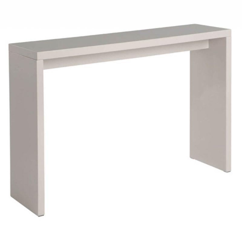 Madrid Console Table Gloss Light Grey