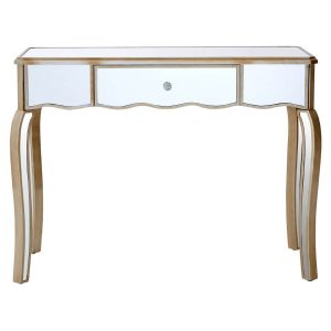 Marilyn Dressing Table 1 Drawer Mirrored