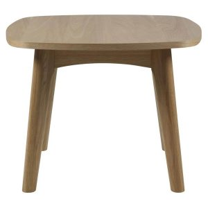 Marte Solid Wood Lamp Table Oak