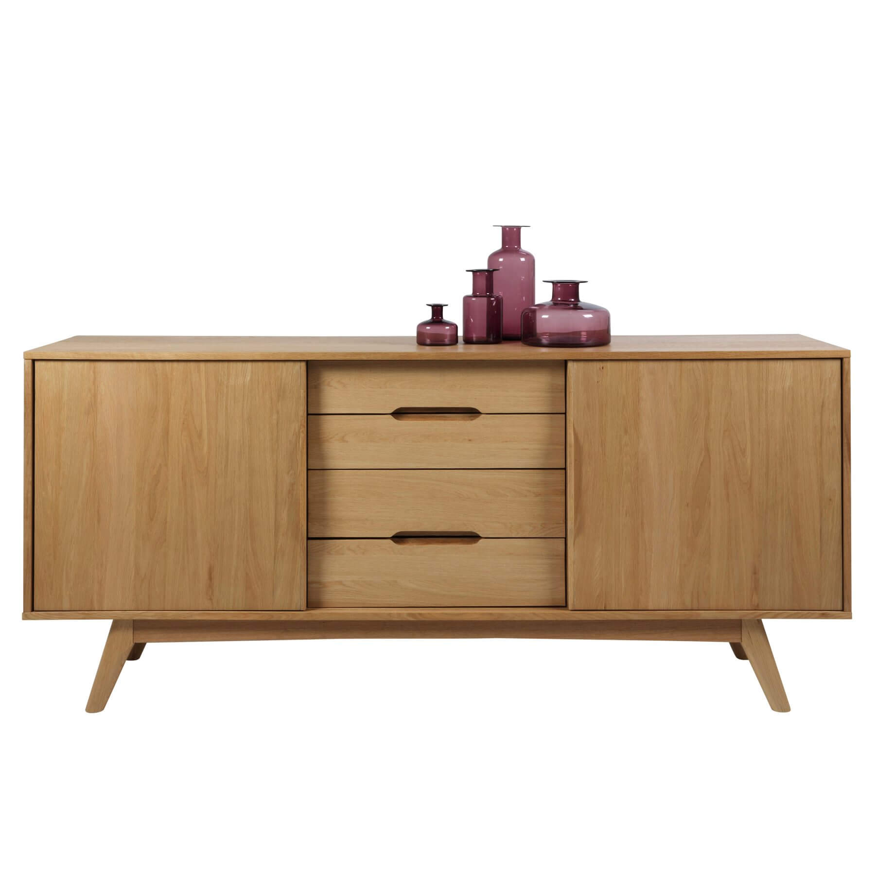 Marte Oak Sideboard Storage