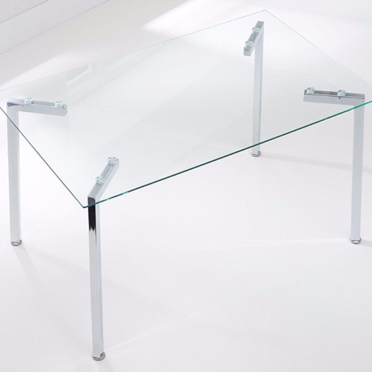 Munich Rectangular Glass Dining Set