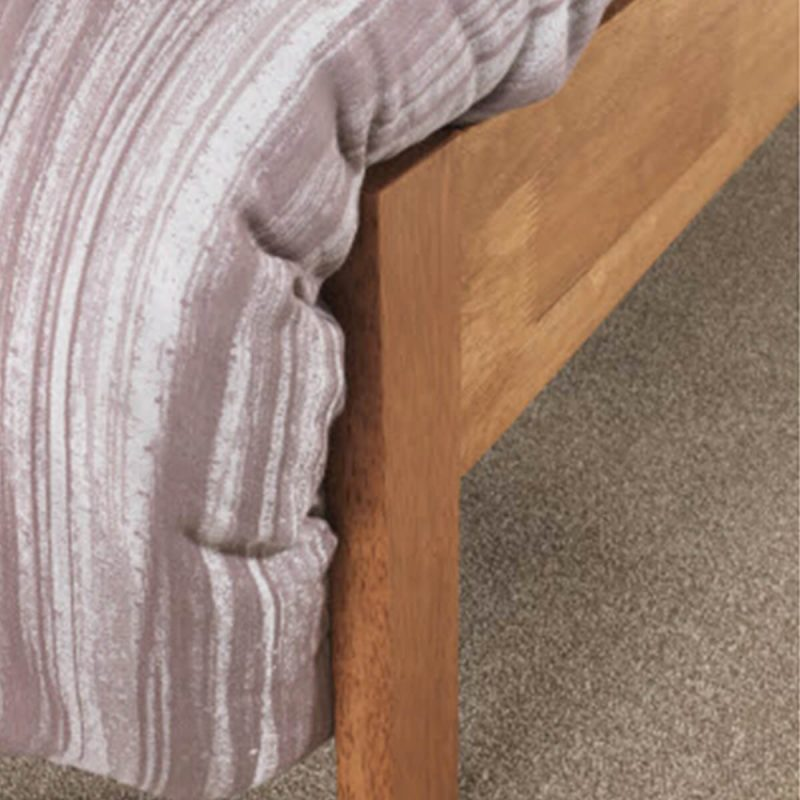 Mya Slatted Wooden Bed Frame Honey Oak 4